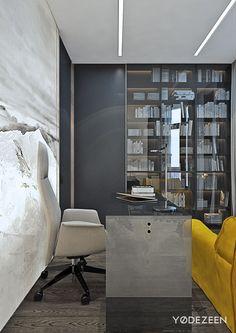 Stylish family apartment on Behance