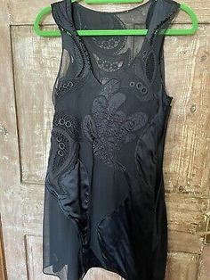 """<p>karen millen lace black fully lined dress size 10. Condition is """"Used"""". Dispatched with Royal Mail 1st Class.</p> Royal Mail, Karen Millen, Pencil Dress, Black Laces, Silk Dress, Im Not Perfect, Size 10, Sleeves, Dresses"""