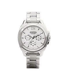 Boyfriend Bracelet Watch by Coach, $298