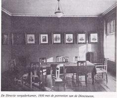 Spanjaard Directievergaderruimte 1930