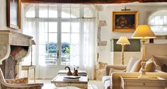 Provencal living room