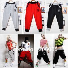 Free shipping! 2013 hot sell Summer Men Women Casual Sporty Hip Hop Dance Harem Baggy Sport Sweat Pants Trousers $17.99