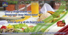 ¡Disfruta de un Desayuno muy Mexicano! En restaurant Los Cafetales