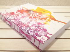 Sugar Skull Journal / Sketchbook Day of the por CitrusBookBindery