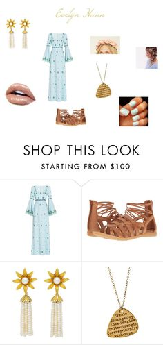 """""""Evelyn Yule Ball"""" by hannek2002 on Polyvore featuring Andrew Gn, Børn, Miriam Merenfeld and Forever 21"""