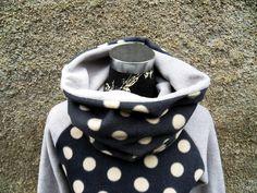 Pünktchen SchlauchSchal  Loop Punkte Dots  von Zellmann Fashion auf DaWanda.com