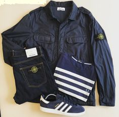Away days - Stone Island, Fred Perry and Munchen Casual Attire, Casual Wear, Casual Outfits, Men Casual, Casual Clothes, Football Casual Clothing, Football Casuals, Mens Fashion Blog, Mod Fashion
