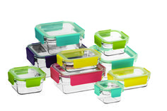 Glasslock 9 Piece Premium Oven Safe Tempered Glass Set Glasslock® is a comprehensive range of reliable food storage containers made from durable tempered glass. Kitchen Containers, Food Storage Containers, Glass Containers, Glass Food Storage, Safe Glass, Storage Sets, Manicure Set, Safe Food, Kitchenware