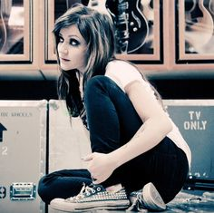 Lacey of Flyleaf - Who would have thought a voice that powerful could come out of a person so small.