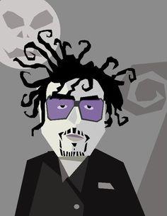 Tim Burton by Pablo Lobato