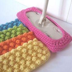 Crochet Bobble Stitch Swiffer Pattern