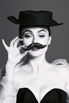 Helena Bonham Carter...what an odd and amazing woman.