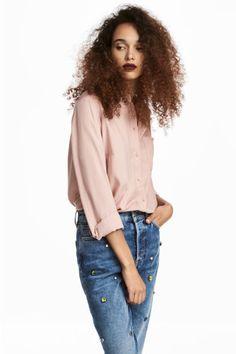 Camicia in viscosa - Rosa cipria - DONNA | H&M IT 1