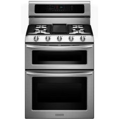 Architect Series II 6.7 cu. ft. Double Oven Dual Fuel Range with Self-Cleaning Convection Oven in Stainless Steel
