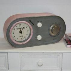 Horloge Radio Rétro Vintage à poser