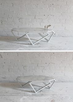 Give your living room a nice, classy touch with this geometric marble table. This project is surprisingly inexpensive and easy to make! Check out the website for the full instructions and material list. http://www.homemade-modern.com/ep61-geometric-marble-coffee-table/