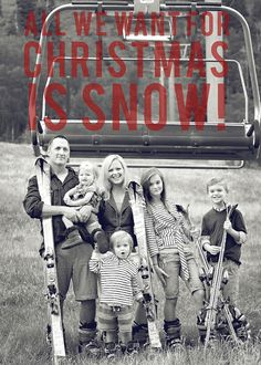 such a great christmas card idea