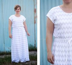 This comfy and flattering DIY maxi dress will be the envy of all of your friends. The flowing skirt and light material make it a fantastic dress to wear on a summer afternoon.