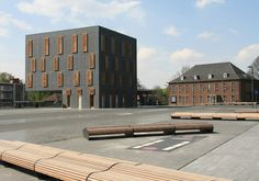 Office Building in Belgium // by Ensemble in Mortsel - Architecture and architects