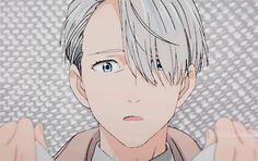 "fyyoi: """" Yuri: I'm sorry this isn't a gold medal. Victor: I won't kiss you if it's not gold. Katsudon, Yuri Katsuki, Natsume Yuujinchou, Fire Heart, Yuri On Ice, Character Development, Beautiful Boys, Boku No Hero Academia, Manga Anime"