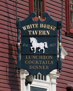 White Horse Tavern, Newport, RI -- oldest still operating tavern in the country.