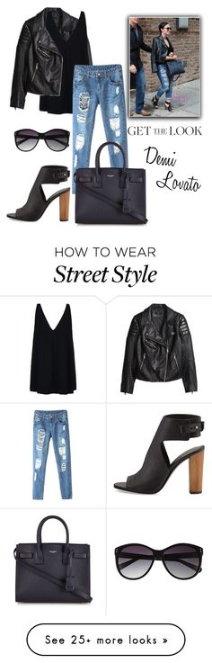 """""""Get The Look - Demi Lovato"""" by luliraq on Polyvore featuring H&M, STELLA McCARTNEY, Yves Saint Laurent, Vince and Vince Camuto"""