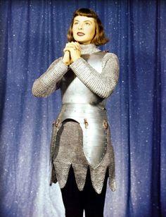 Joan of Arc #Ingrid Bergman    Alicia Briatore via MoviePass onto MES ACTEURS ET ACTRICES