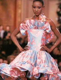 Yves Saint Laurent haute couture 1988