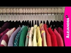[VIDEO]: Closet Organization Ideas & Tips - Organizing Your Closet from http://www.alejandra.tv