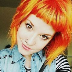 We are #inlove with @olibomb's fiery #orangehair! She used our #ElectricTigerLily for this vibrant color.