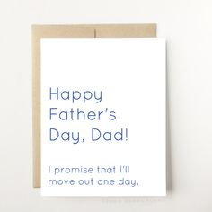 A personal favorite from my Etsy shop https://www.etsy.com/listing/514872194/funny-fathers-day-card-fathers-day-card