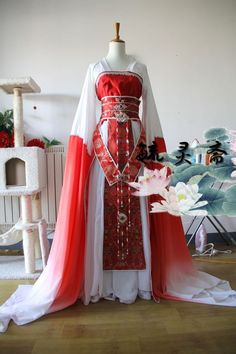 Anime Outfits, Cosplay Outfits, Fantasy Dress, Medieval Dress, Chinese Clothing, Fashion Mode, Beautiful Gowns, Beautiful Outfits, Hanfu