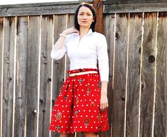 Suburbs Mama: Skirt Refashion