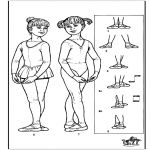 Coloring Pages-Ballet Dance Coloring Pages, Toddler Dance, Dance Books, Teach Dance, Angelina Ballerina, Ballet Class, Dance Teacher, New Journey, Young Living Essential Oils