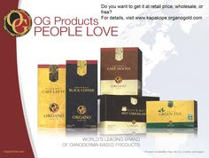 Organo Gold Products People Love