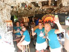 Conched in Key West Charity Bar Crawl. Come join us!