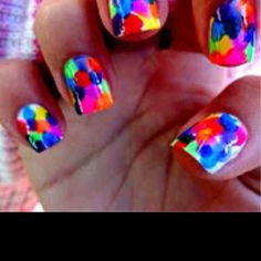 #technicolor #nails