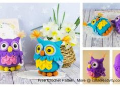 free crochet pattern Archives - Page 5 of 72 - Cool Creativities Owl Patterns, Crochet Patterns, Crochet Ideas, Crochet Owls, Free Crochet, Knitting, Toys, Knits, Crocheting