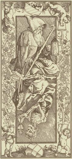 Le Tarot d'Albrecht Dürer - Verso des cartes