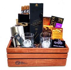 Gift Baskets for Men | Birthday, Holiday, Anyday | TheBroBasket.com