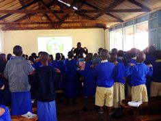 We also deliver age-appropriate health education on things such as malaria, nutrition, and hygiene at our clinics!