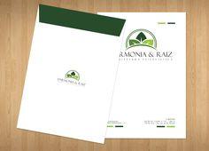 Tipo: Envelope saco Cliente: Harmonia e Raiz