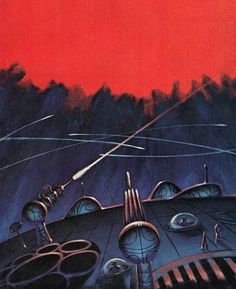 One of the first I ever read, in English no less, and hooked me!  (Jack Gaughan - Triplanetary, 1965.)