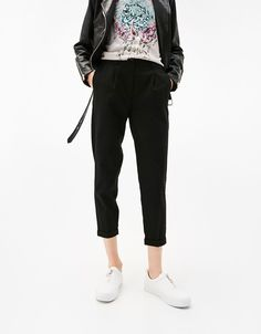 Tailored joggers with pleats 1 799 РУБ.