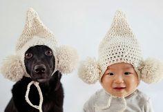 bebê vestidos iguais ao dono