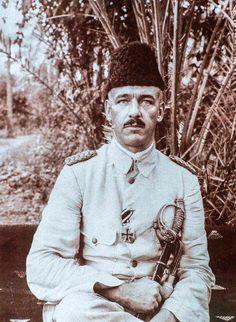 Osmanlı ile beraber Almanlara istihbarat toplayan Almanların Arabistanlı Lawrence'si, Osmanlı binbaşısı Fritz Klein. #istanlook