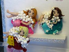 Bubble /polymer clay /great gift