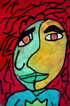 Picasso Self Portraits For Kids A mom knows mess: pablo picasso self-portraits