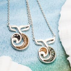 Forever Fins Necklaces by Dune Jewelry Dune, Nautical, Jewelry Necklaces, Pendant Necklace, Silver, Navy Marine, Money, Nautical Style, Nautical Theme