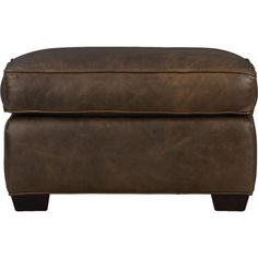 about us living room pinterest crates barrels and leather ottoman - Crate And Barrel Leather Chair